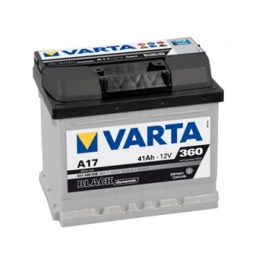 VARTA BLACK DYNAMIC A17 41AH 360A