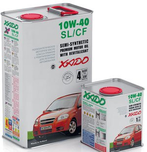 XADO ATOMIC OIL SL/CF 10W40 5L
