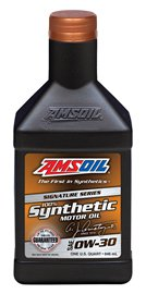 AMSOIL SIGNATURE SERIES 0W30 (AZO) 1QT 946ML