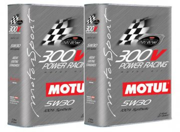 MOTUL 300V POWER RACING 5W30 2X2L 4L