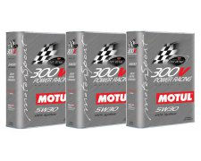MOTUL 300V POWER RACING 5W30 3X2L 6L