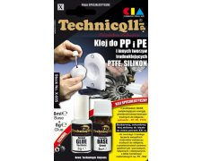 TECHNICOLL KLEJ DO PE PP PTFE 8G + 8ML