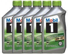 MOBIL 0W20 ADVANCED FUEL ECONOMY 5x1L