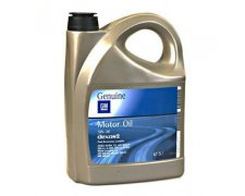 GM MOTOR OIL DEXOS2 5W30 5L
