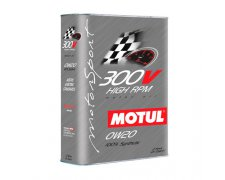 MOTUL 300V 0W20 HIGH RPM 2L