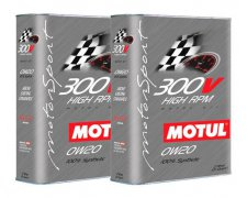MOTUL 300V 0W20 HIGH RPM 4L