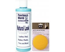 POORBOY'S NATURAL LOOK DRESSING 473ML + APLIKATOR
