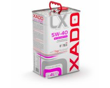 XADO LUXURY DRIVE 5W40 4L + 1STAGE REVITALIZANT