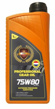 PMO PROFESSIONAL GEAR OIL DR 75W80 1L