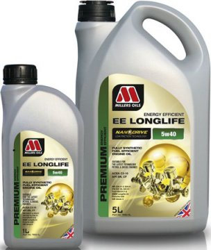 MILLERS OILS EE LONGLIFE 5W40 5L