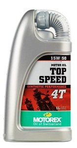 MOTOREX TOP SPEED 15W50 4T 1L