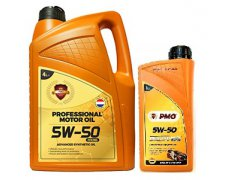 PMO PROFESSIONAL MOTOR OIL RACING 5W50 5L