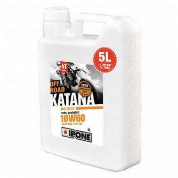 IPONE KATANA OFF-ROAD 10W60 SYNTETYK KTM 5L
