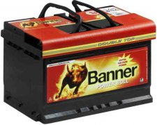 BANNER POWER BULL 62AH 540A P+