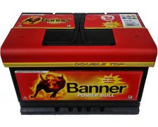 BANNER POWER BULL 72AH 660A P+