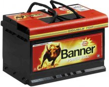 BANNER POWER BULL 80AH 700A P+