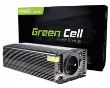 GREEN CELL PRZETWORNICA 12V DO 230V 1000W
