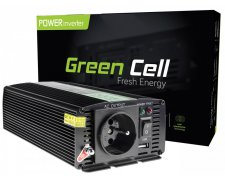 GREEN CELL PRZETWORNICA 24V DO 230V 1000W