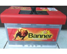 BANNER POWER BULL PROFESSIONAL 77AH 680A P +