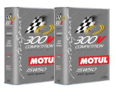 MOTUL 300V COMPETITION 15W50 2X2L 4L