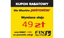 Kupon rabatowy FIX AUTO