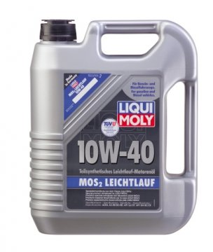 liqui moly 10w40 mos2 leichtlauf 4l mos2 leichtlauf. Black Bedroom Furniture Sets. Home Design Ideas