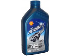 SHELL ADVANCE VSX AX7 15W50 4T 1L