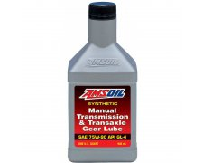 AMSOIL MANUAL TRANSMISSION 75W90 TRANSAXLE GEAR LUBE - 0.94L 1Q