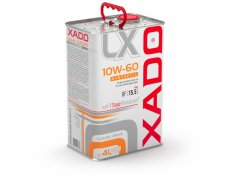 XADO LUXURY 10W60 DRIVE 4L + 1STAGE REVITALIZANT